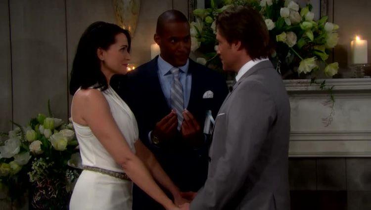 mariage. Quinn Fuller Forrester et Deacon Sharpe
