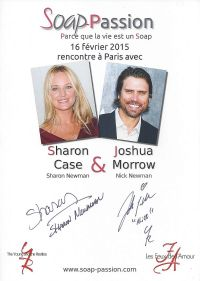 Interview exclusive de Sharon Case et Joshua Morrow :