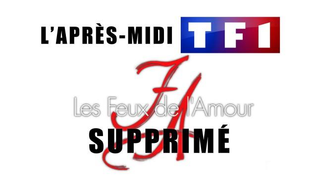 Fin des Feux de l'Amour sur TF1 l'après-midi