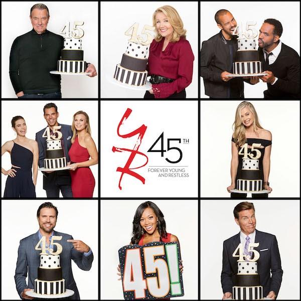 45ème anniversaire des Feux de l'Amour : les premières images