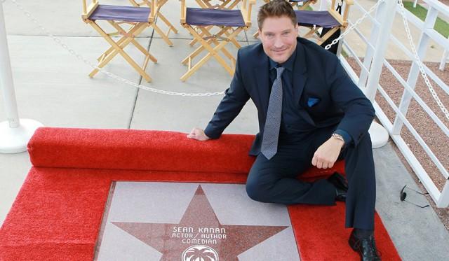 Sean Kanan (Deacon Sharpe dans Top Models et les Feux de l'Amour) a son étoile !