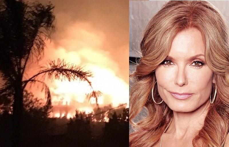 Les Stars des Feux de l'Amour face aux flammes à Los Angeles