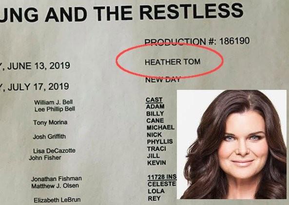 Heather Tom, réalisatrice des Feux de l'Amour !