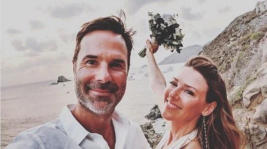 Carnet blanc : Elizabeth Hendrickson (Chloe des Feux de l'Amour) s'est mariée !