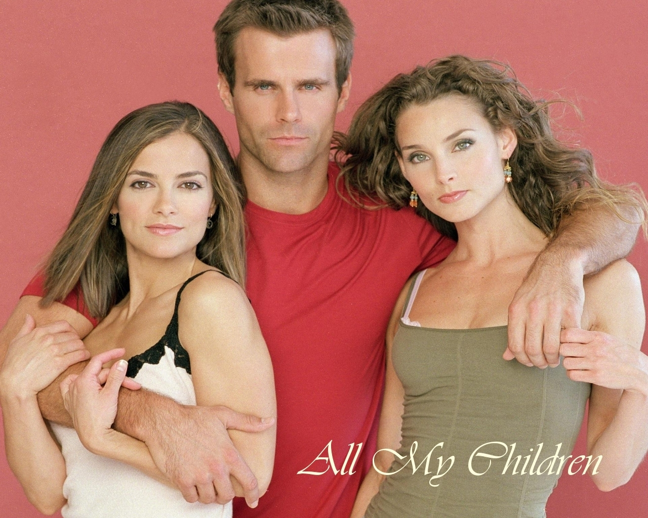 Greenlee, Ryan et Kendall de All My Children