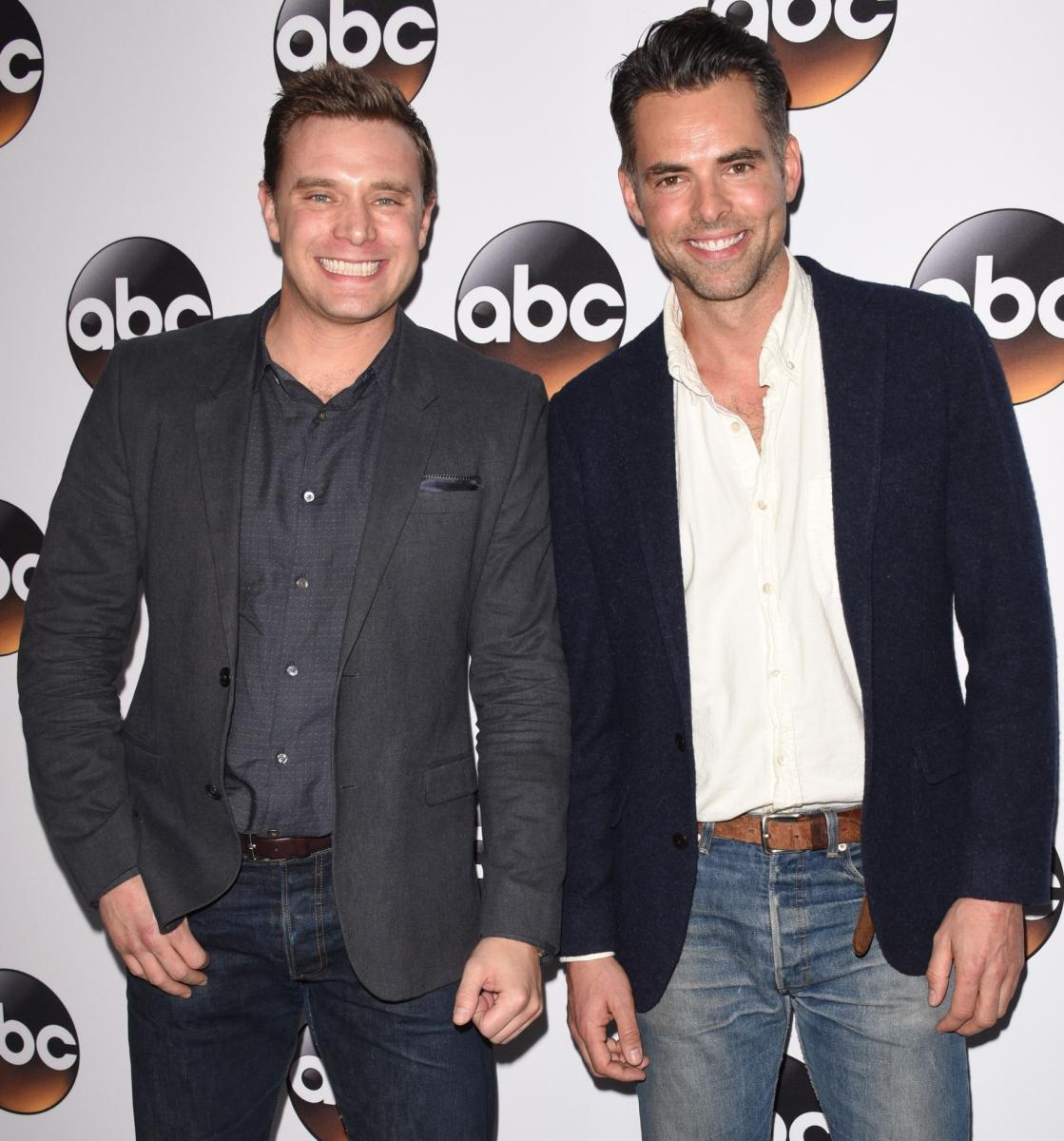 Billy Miller et Jason Thompson