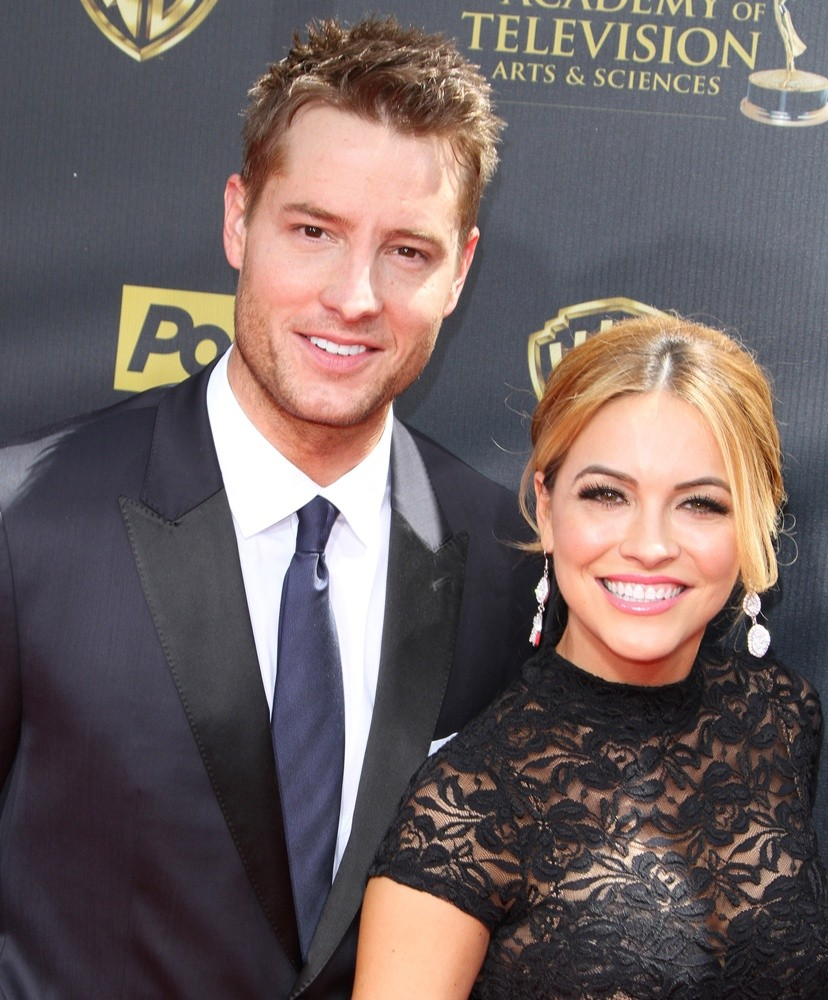Justin Hartley et Chrishell Stause