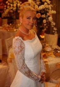 La robe de mariée de Nikki entre au Musée