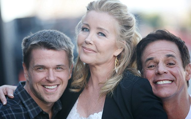 David Tom, Melody Thomas Scott et Christian Leblanc