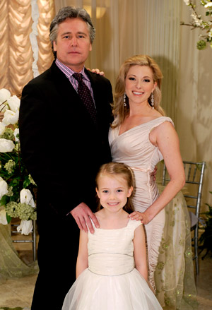 Michael E. Knight et Cady McClain,<br>Tad et Dixie de All My Children