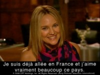 Une interview Exclusive de Sharon Case en Video !