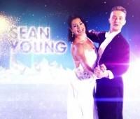 Sean Young patine avec les étoiles !