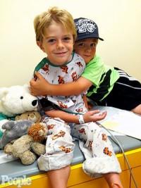 Max Page a subi une opération à coeur ouvert