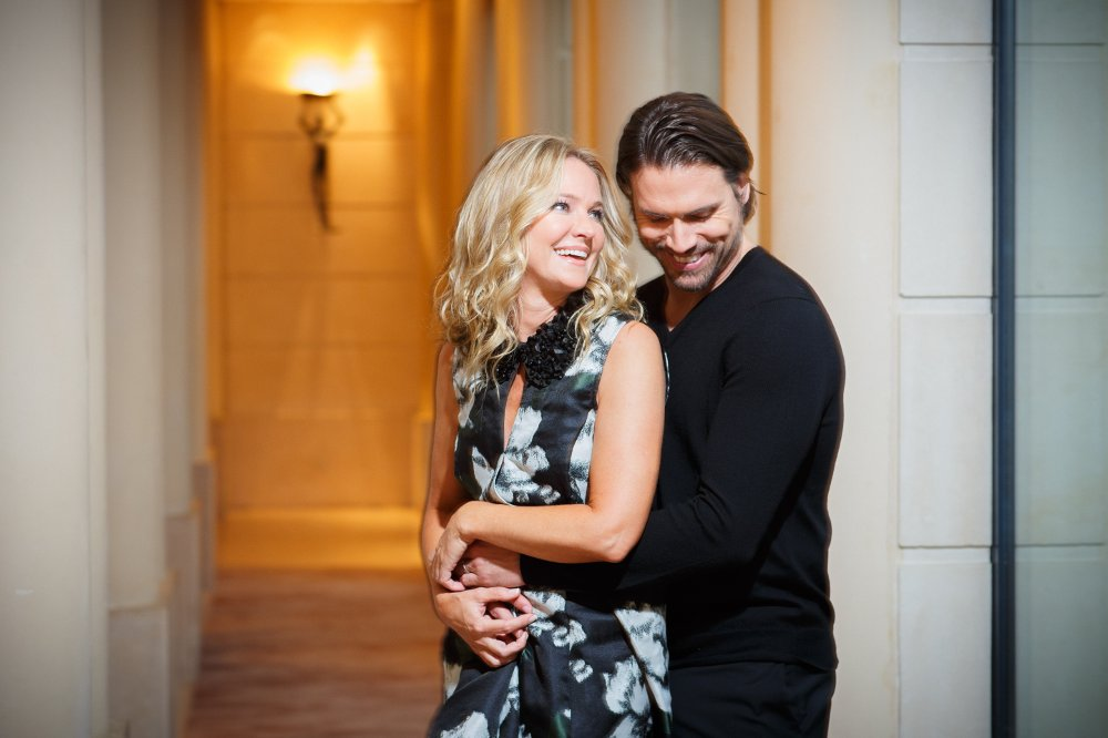 Sharon Case et Johua Morrow ©TF1