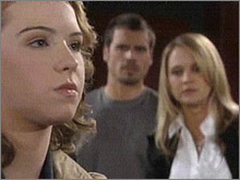 Les Feux de l'Amour, épisode N°8107 diffusé le 25 mars 2008 sur rts1 en Suisse