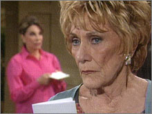 Les Feux de l'Amour, épisode N°8109 diffusé le 8 avril 2005 sur cbs aux USA