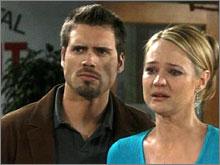 Les Feux de l'Amour, épisode N°8125 diffusé le 25 août 2008 sur tf1 en France