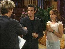 Top Models, épisode N°4586 diffusé le 29 août 2006 sur rts1 en Suisse