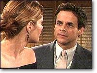 Les Feux de l'Amour, épisode N°7387 diffusé le 24 janvier 2006 sur tf1 en France