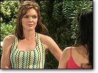 Les Feux de l'Amour, épisode N°7406 diffusé le 14 février 2006 sur tf1 en France