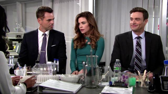 Les Feux de l'Amour, épisode N°11026 diffusé le 7 octobre 2016 sur cbs aux USA