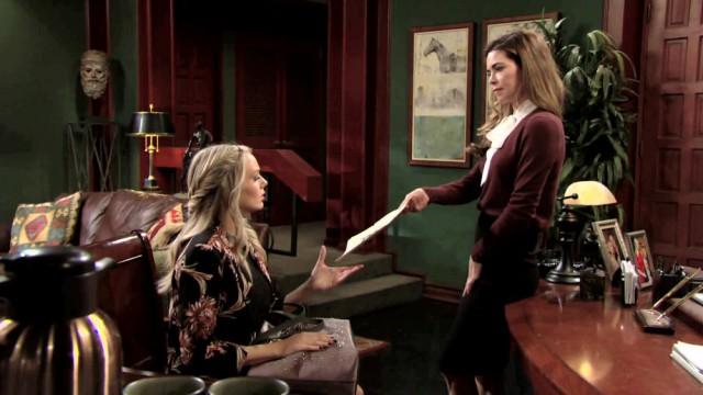 Les Feux de l'Amour, épisode N°11314 diffusé le 13 octobre 2020 sur tf1 en France