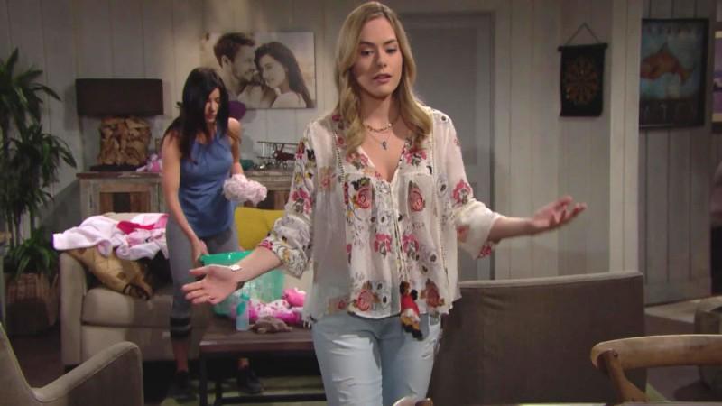 Amour, Gloire et Beauté - Top Models, épisode N°7880 diffusé le 12 juillet 2018 sur cbs aux USA