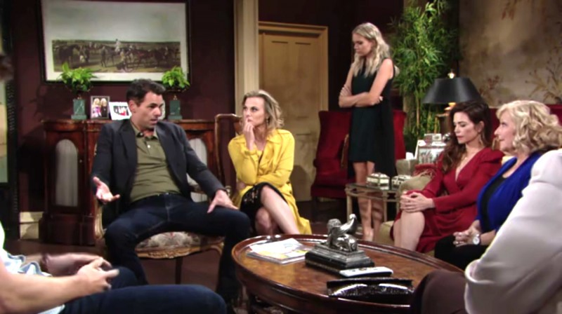 Les Feux de l'Amour, épisode N°11524 diffusé le 24 septembre 2018 sur cbs aux USA