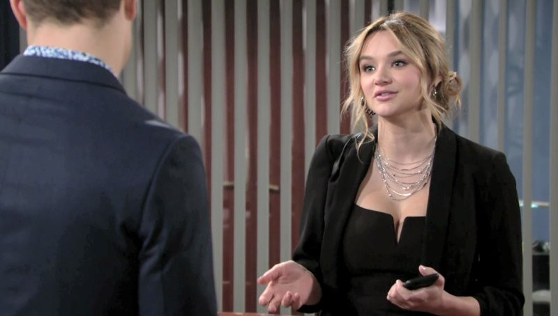 Les Feux de l'Amour, épisode N°11612 diffusé le 29 janvier 2019 sur cbs aux USA