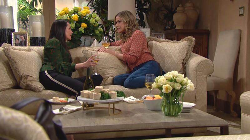Amour, Gloire et Beauté - Top Models, épisode N°8268 diffusé le 10 février 2020 sur cbs aux USA