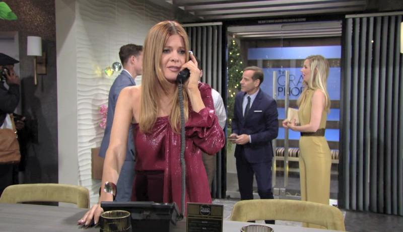 Les Feux de l'Amour, épisode N°11910 diffusé le 7 avril 2020 sur cbs aux USA
