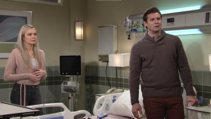 Les Feux de l'Amour, épisode N°12032 diffusé le 18 janvier 2021 sur cbs aux USA