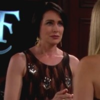 Amour, Gloire et Beauté : Quinn (Rena Sofer) persuade Hope de laisser une chance à son fils.