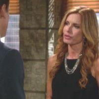 Les Feux de l'Amour : Lauren (Tracey E. Bregman) ne comprend pas que Michael refuse d'en parler.