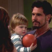 Amour, Gloire et Beauté : Will (Zane Alexander Achor) veut dire bonsoir à son père.