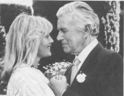 John Forsythe (Blake Carrington) et Linda Evans (Krystle Jennings Carrington)