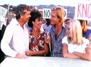Karen & Sid Fairgate (Michele Lee & Don Murray) et Gary & Val Ewing  (Joan Van Ark & Ted Shackelford)