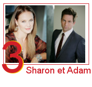 Sharon 0 et Adam